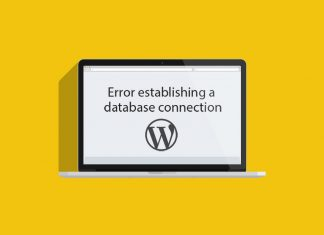 cách sửa lỗi error establishing a database connection