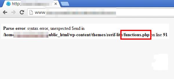 lỗi syntax error