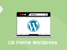 lỗi cài theme wordpress