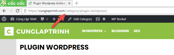 xóa category trong url wordpress