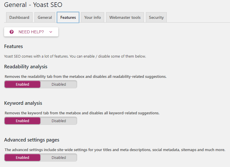 hướng dẫn sử dụng yoast wordpress seo