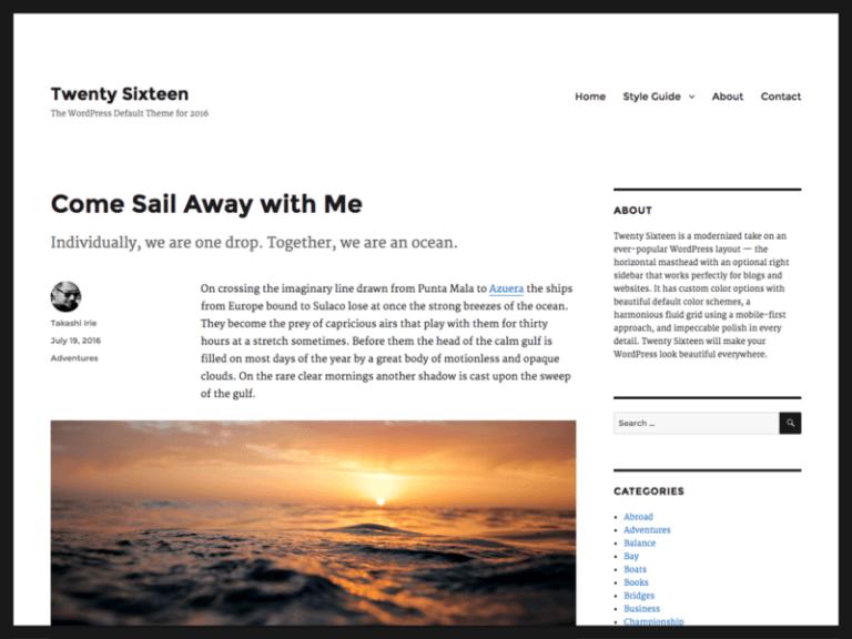 tạo blog cá nhân bằng WordPress 2018
