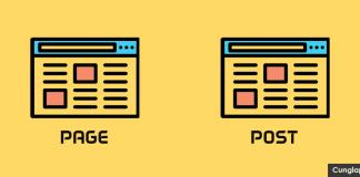 page và post