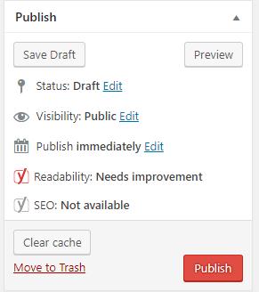 tạo bài viết mới trong wordpress