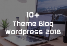 theme blog wordpress