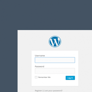 đăng nhập wordpress