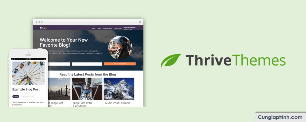 Đánh giá Thrive Themes – Bộ công cụ cho WordPress TỐT NHẤT