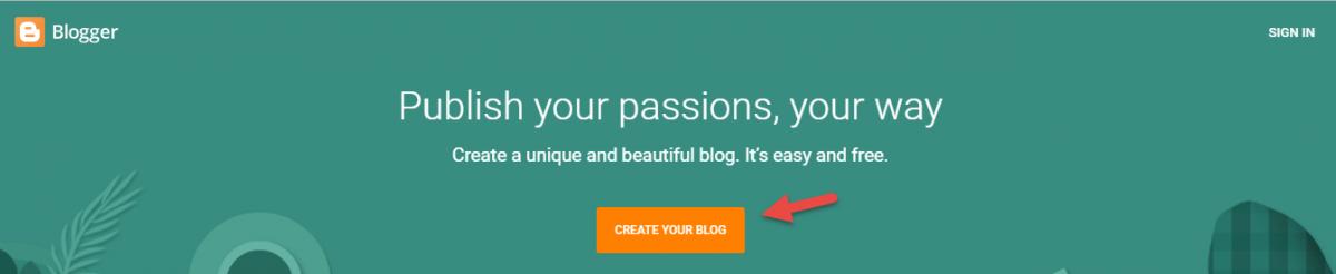 cách tạo blogspot chuẩn seo