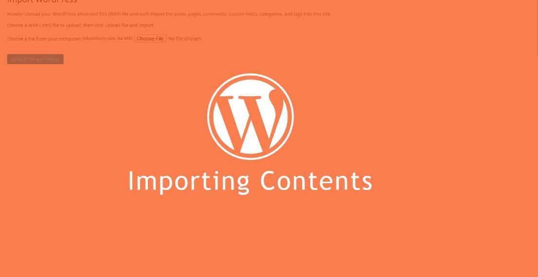 Khắc phục lỗi Import Demo trong WordPress khi cài theme