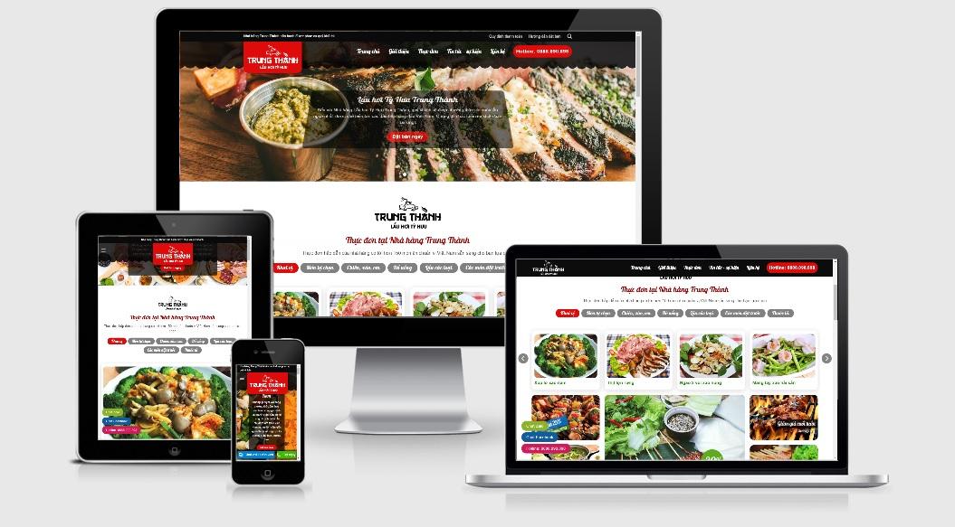 10+ Theme WordPress nhà hàng tốt nhất (7396)