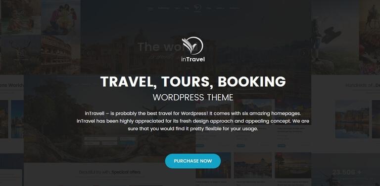 Top 10 Theme WordPress du lịch đẹp nhất 2019
