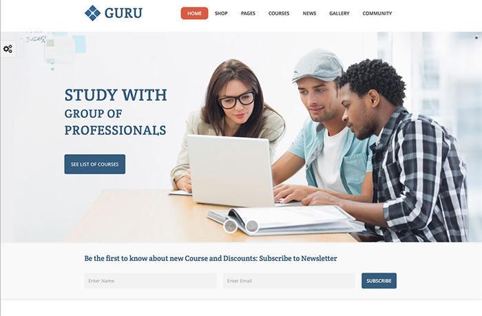 10 Theme WordPress giáo dục, trường học tốt nhất